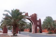 باب مدينة تيميمون العريقة إقليم قورارة, تيميمون, أدرار, الجزائر
