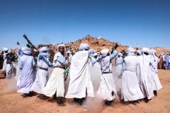قرص رقصة البارود, تمقطن, أدرار, الجزائر