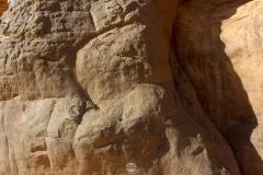 نقوش ورسومات الطاسيلي شاهد على حضارة الرجل الازرق, تمنراست, الجزائر