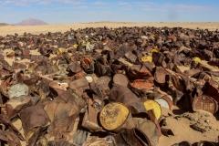 نفايات مواد البناء, تمنراست, الجزائر