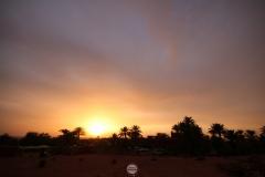 غروب الشمس لحظة تأمل مع الذات, اولف, ادرار, الجزائر