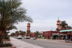 تيميمون الطريق إلى المسجد الكبير, تيميمون, الجزائر
